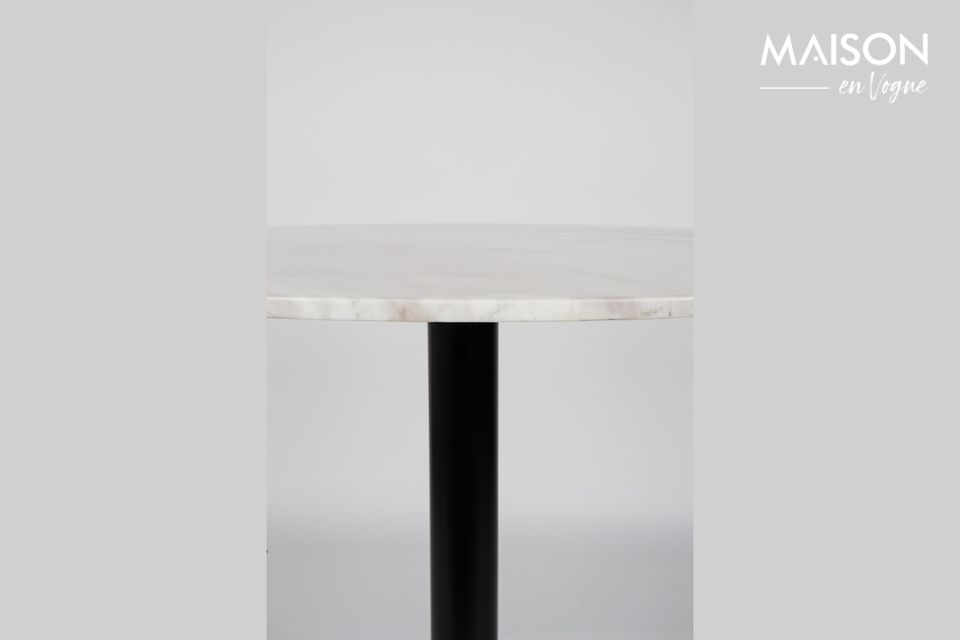 Mesa Marble King 90' negra - 11