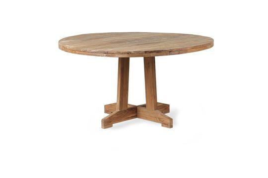 Mesa redonda de teca Argancy