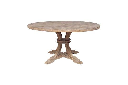 Mesa redonda en madera Valbelle Clipped