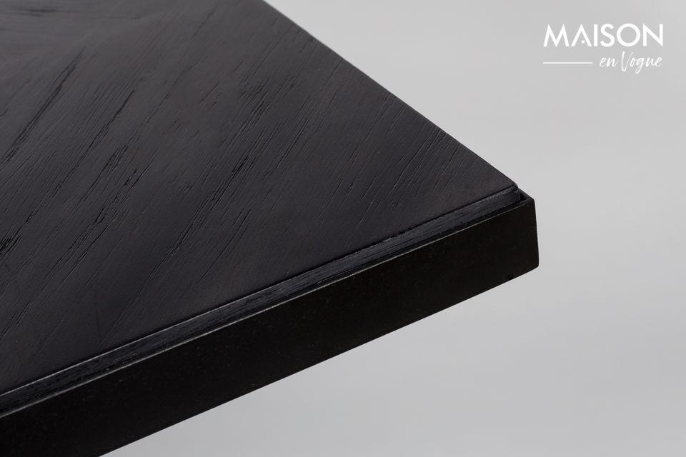 Mesa Seth 180X90 Negro - 7