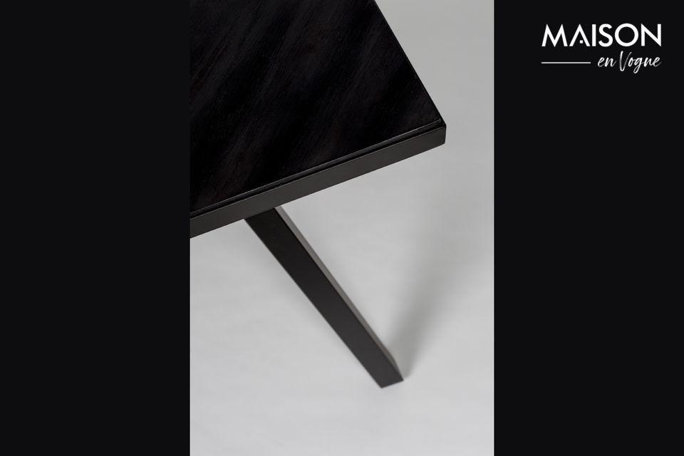 Mesa Seth 220X90 negro - 8