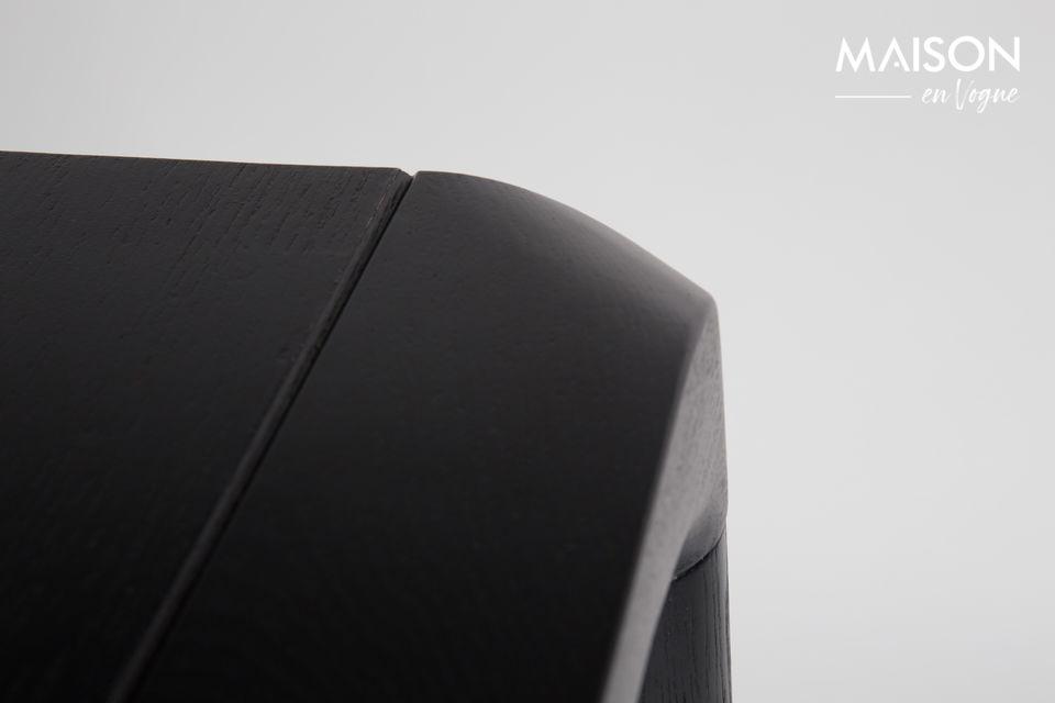 Mesa Storm 180X90 negro - 6