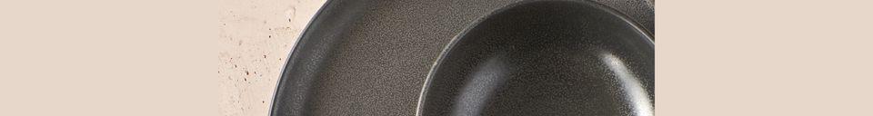 Descriptivo Materiales  Mini tazón de granito Mirha