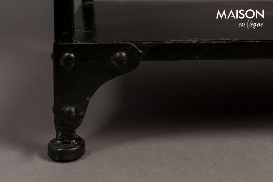 Este mueble está compuesto por una estantería de pie (34