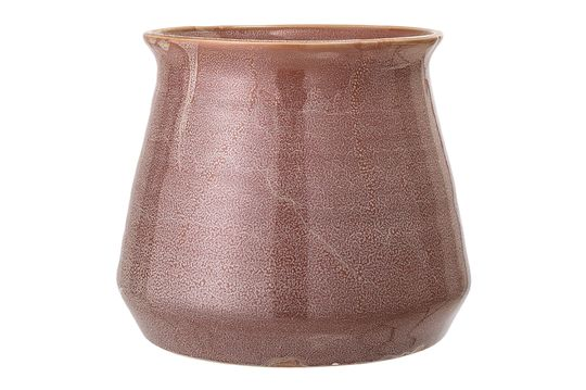 Olla de gres marrón Haucourt