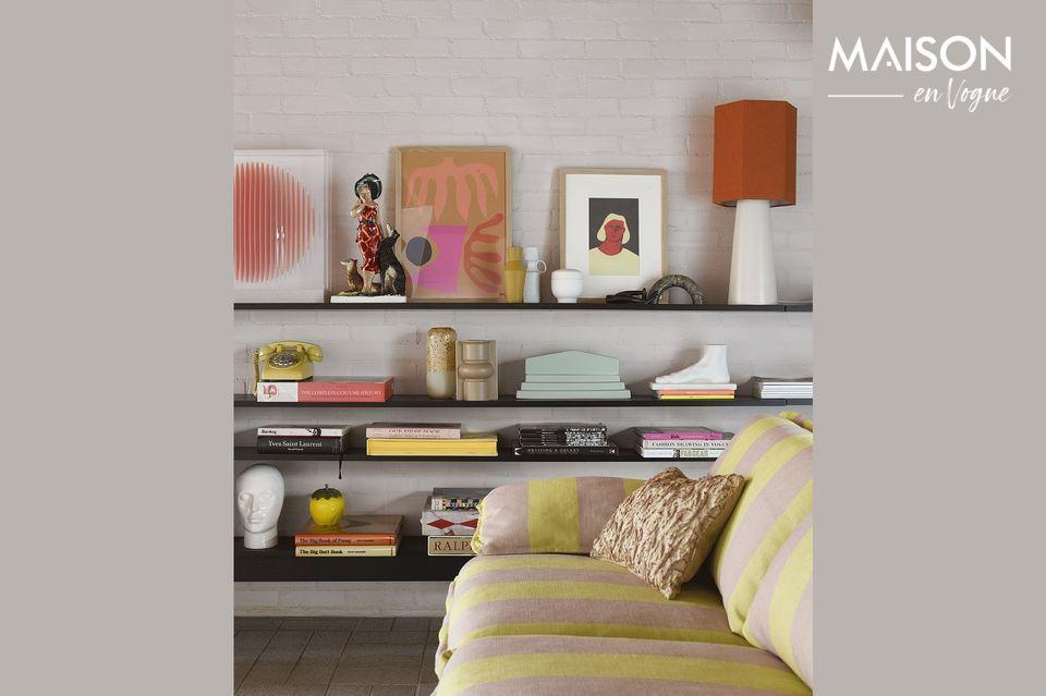 Esta moderna pieza iluminará su casa con un diseño elegante y contemporáneo