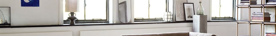 Descriptivo Materiales  Pantalla de lino Maltat tamaño L