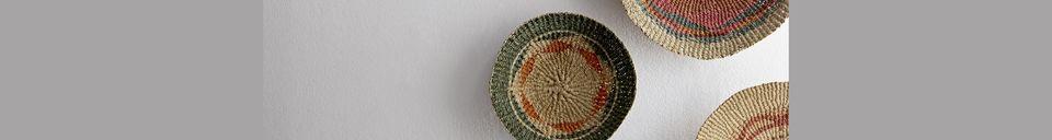 Descriptivo Materiales  Pareja de cestas de pared de Aujols