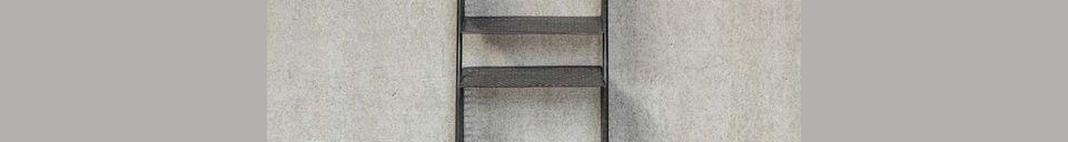 Descriptivo Materiales  Pequeño estante de tres niveles Dompaire