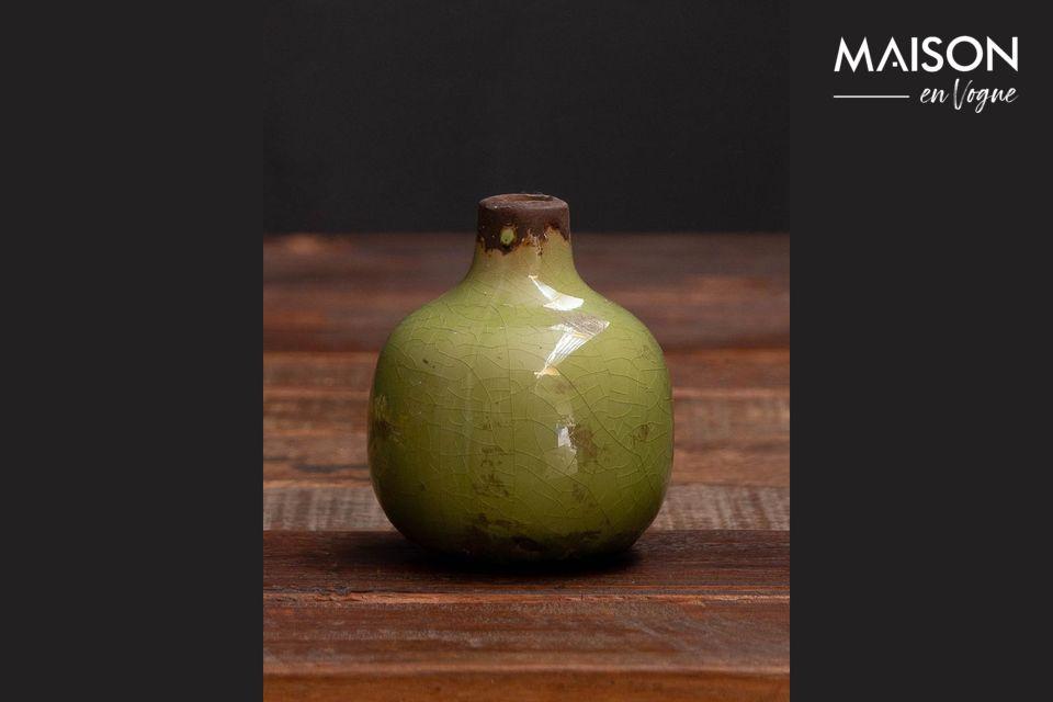 Un jarrón suave que se mezcla con su casa