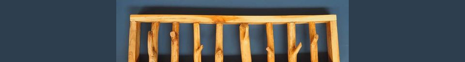 Descriptivo Materiales  Percheros Gigny Wood