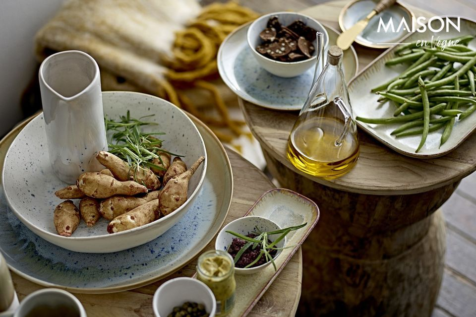 Una cerámica que realza la comida
