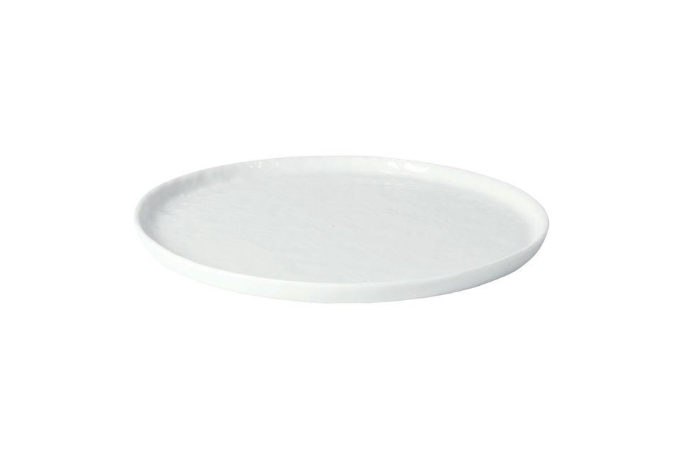 Plato de postre Porcelino White Pomax