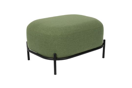 Polly pouf verde Clipped