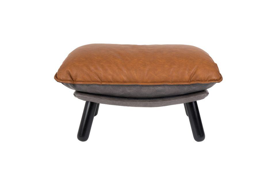 Pouf Lazy Slack Li marrón - 7