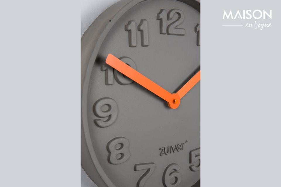 Un moderno e inusual reloj
