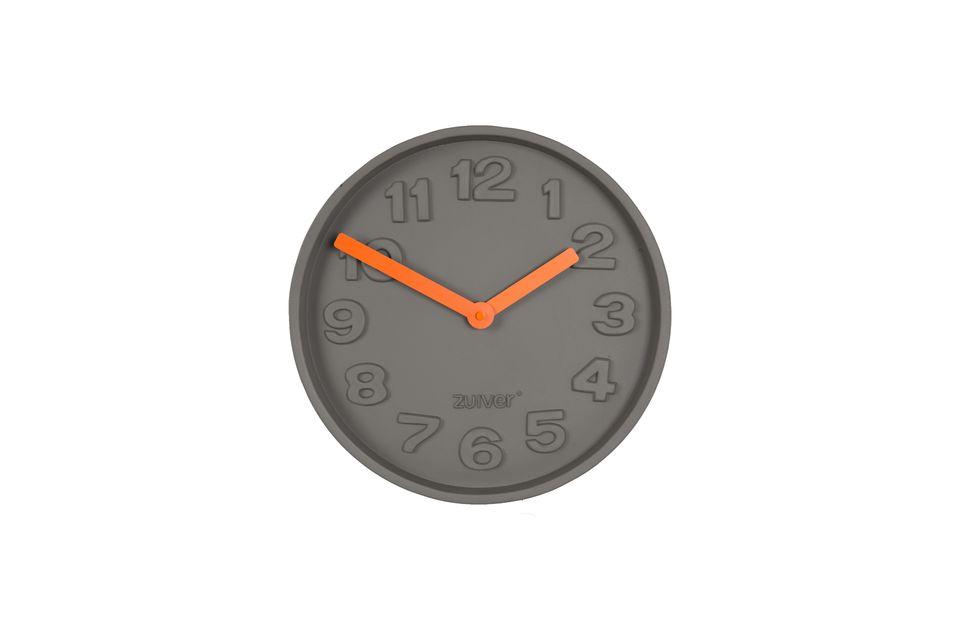 Reloj Concrete Time naranja Zuiver