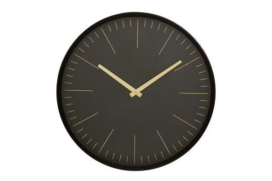 Reloj de pared Onix negro y oro