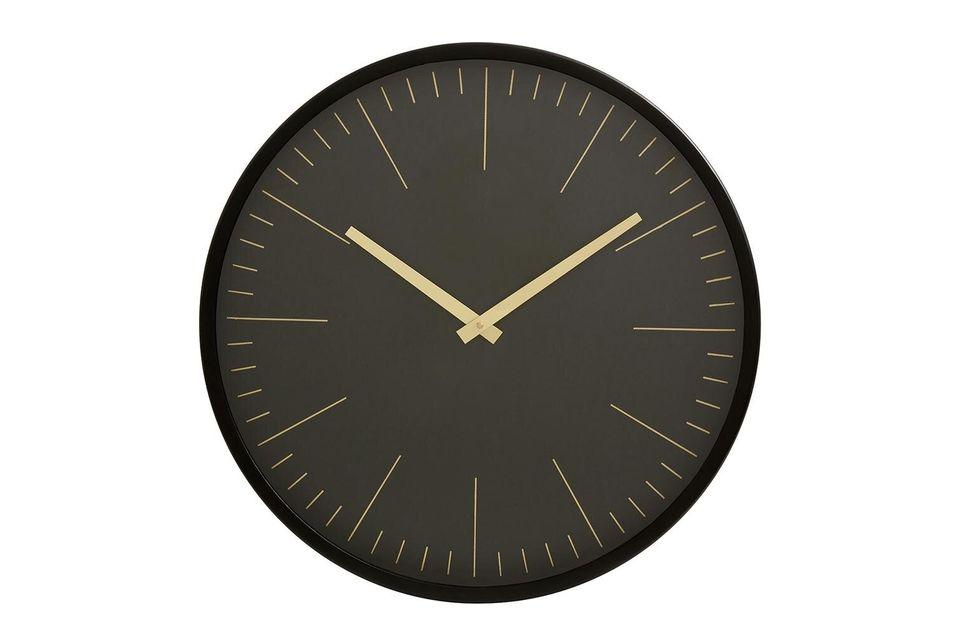 Para este reloj de pared, la marca Nordal ha optado por las imágenes