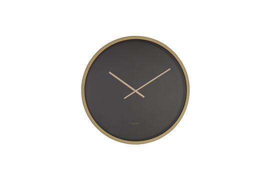 Reloj Time Bandit negro y de latón Clipped
