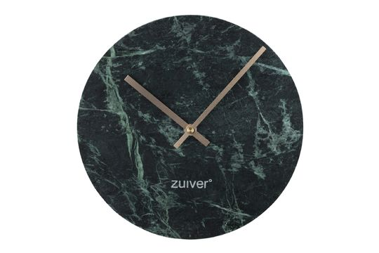 Reloj Time en mármol verde