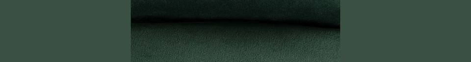 Descriptivo Materiales  Reposapiés de terciopelo verde Bar