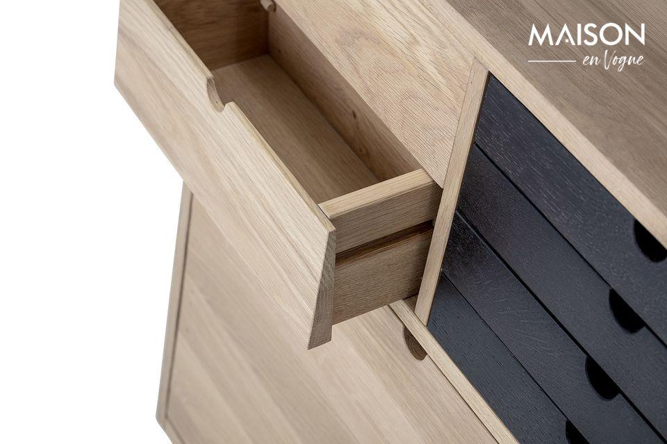 Una inteligente y elegante pieza de mobiliario de oficina