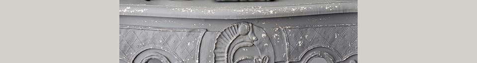 Descriptivo Materiales  Serans Consola gris