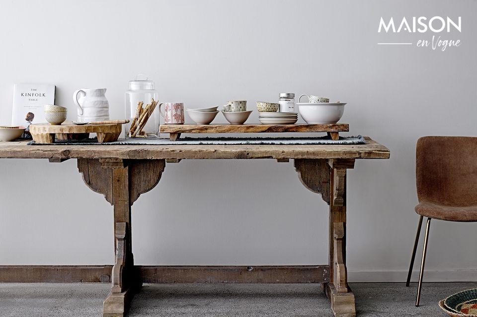 Cubiertos de ensalada que combinan la autenticidad y el refinamiento
