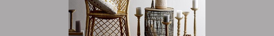 Descriptivo Materiales  Set con 6 Candelabro Espeyrac