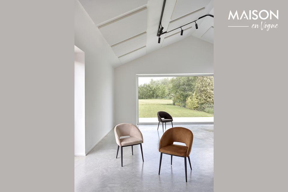 Una silla de estilo contemporáneo para el máximo confort