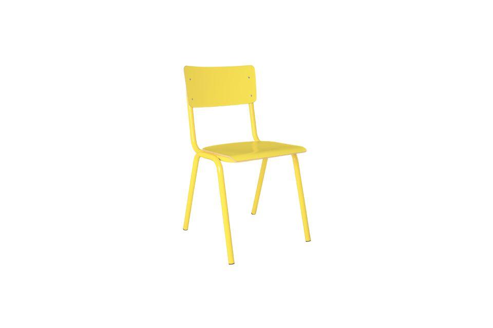 Silla Back To School amarillo Zuiver