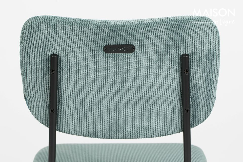silla benson gris-azul - 4