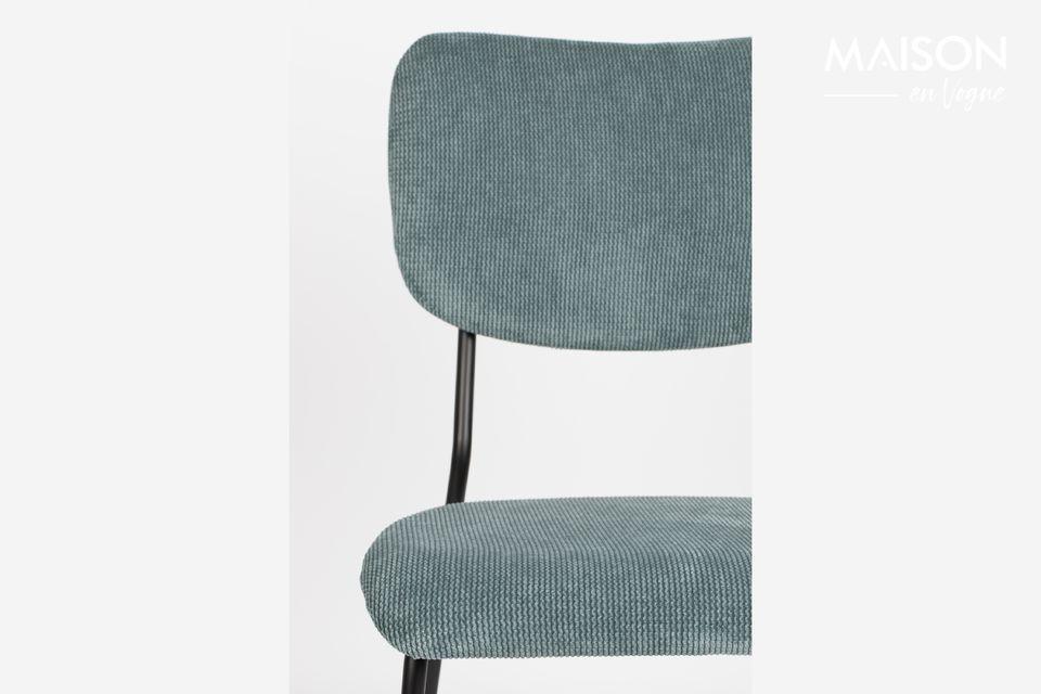 silla benson gris-azul - 5