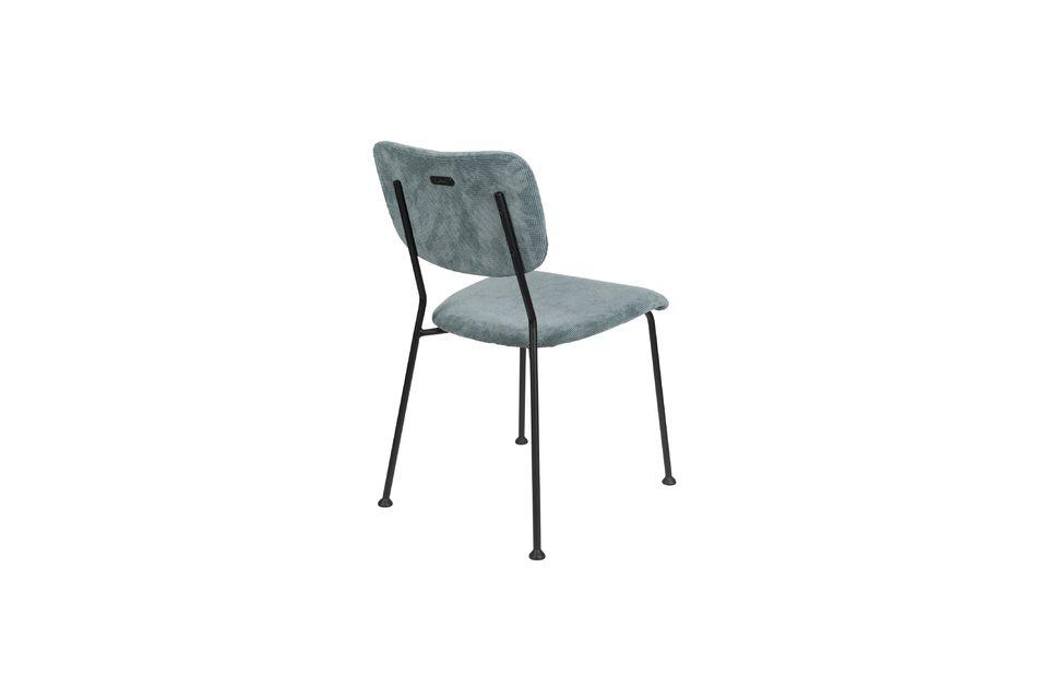 silla benson gris-azul - 7