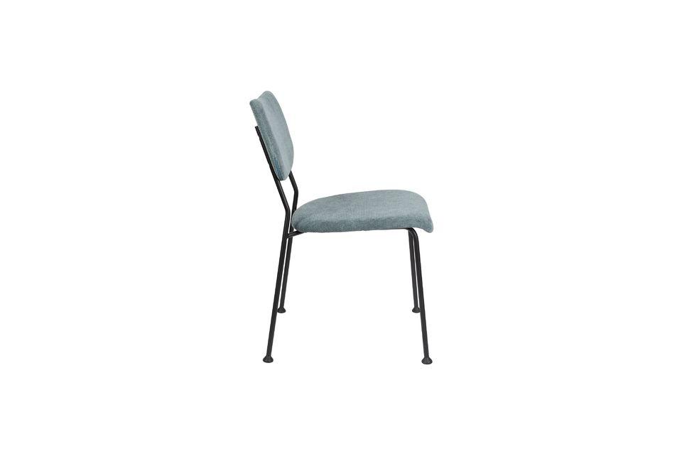 silla benson gris-azul - 8