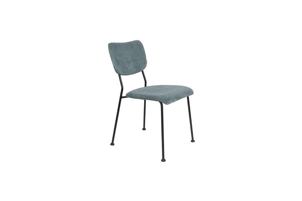 silla benson gris-azul Zuiver