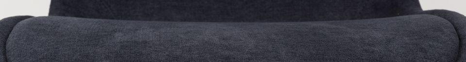 Descriptivo Materiales  Silla Brent azul