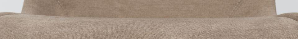 Descriptivo Materiales  Silla Brent color de arena
