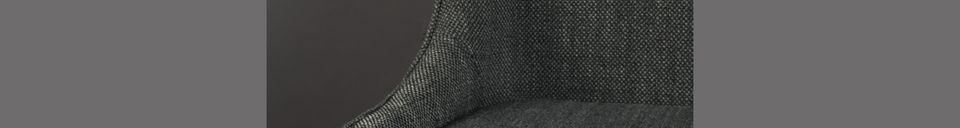 Descriptivo Materiales  Silla cosy Magnus antracita