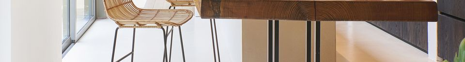 Descriptivo Materiales  Silla de Bar Sun