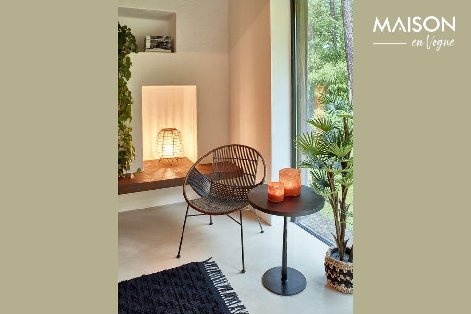 Increíblemente amplia y envolvente, la silla Relax Cappuccino es un accesorio de gran comodidad