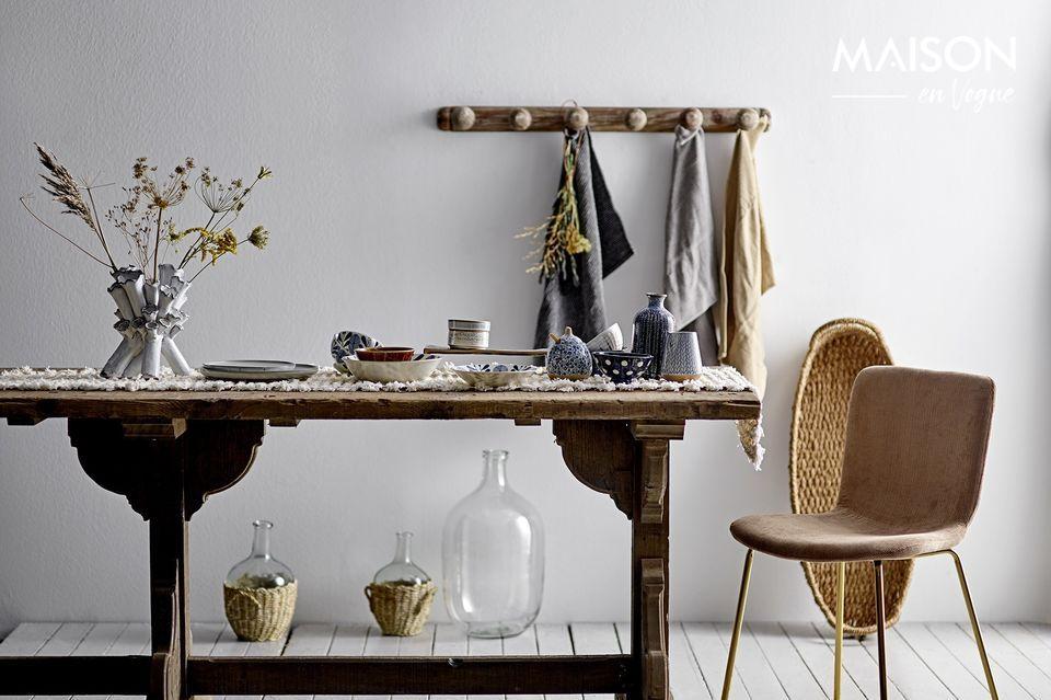 Elegante silla de comedor