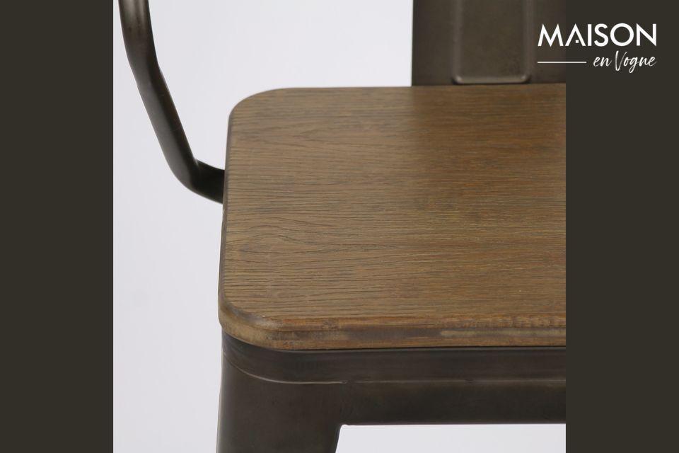 Una silla urbana e industrial para dar estilo a su interior