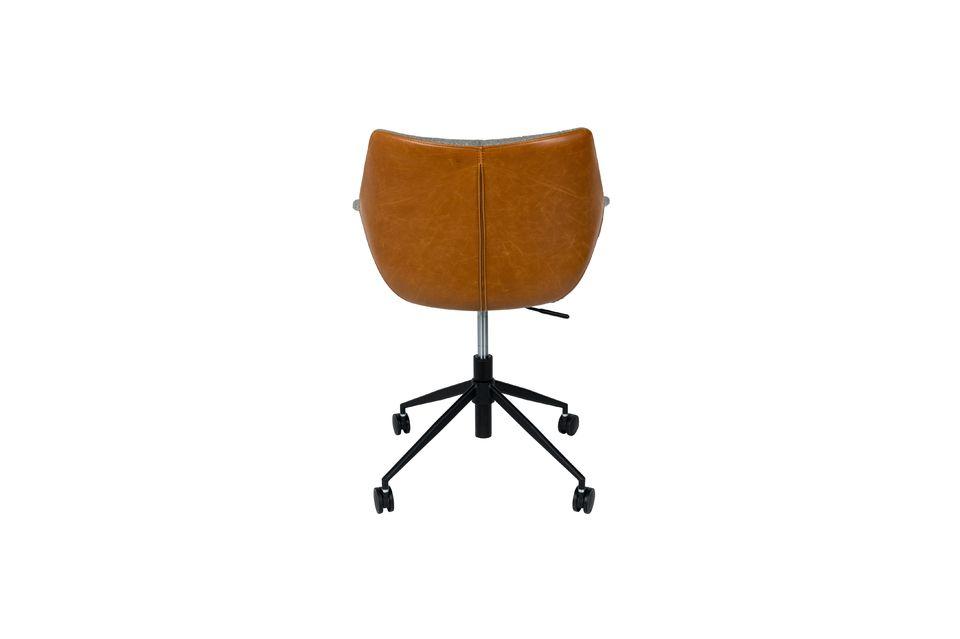 Silla de oficina Doulton Vintage Brown - 12