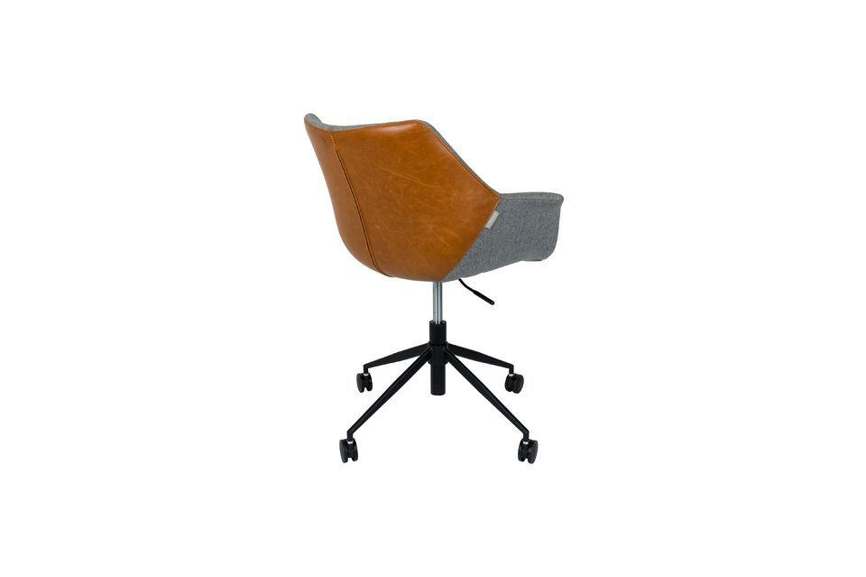 Silla de oficina Doulton Vintage Brown - 13