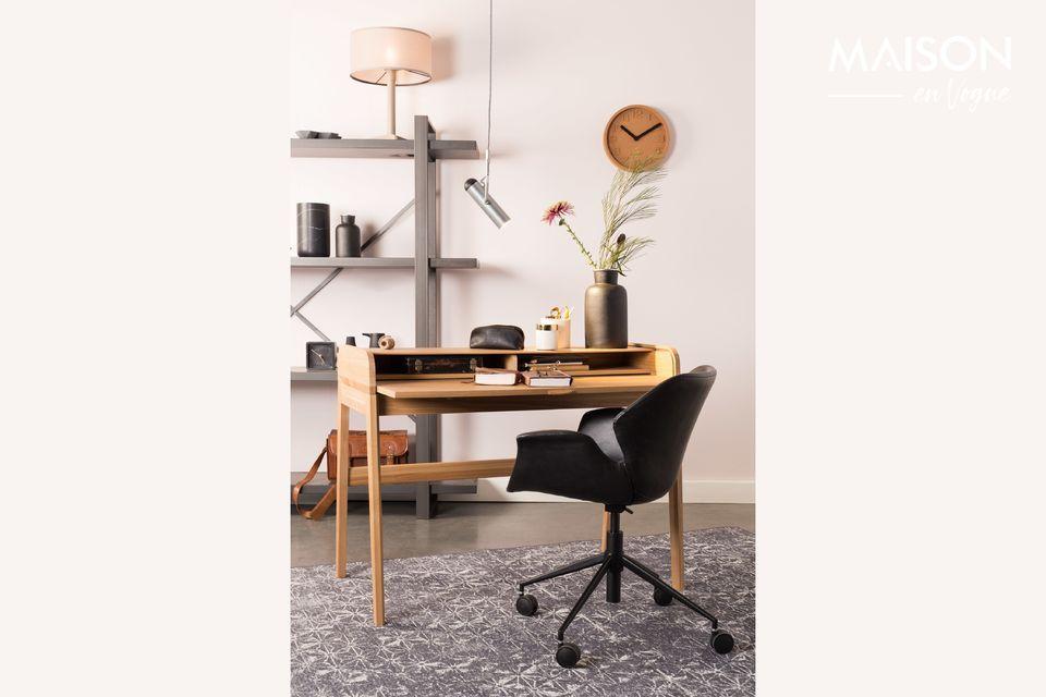 Cuando la silla de oficina rima con estilo