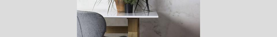 Descriptivo Materiales  Silla de oficina OMG negra y gris