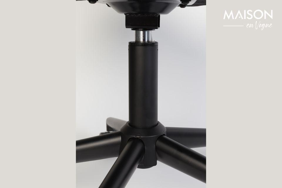 Silla de oficina OMG negra y gris - 5