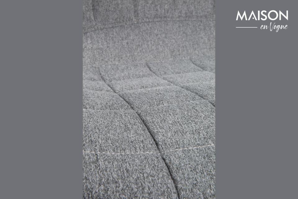 Silla de oficina OMG negra y gris - 6